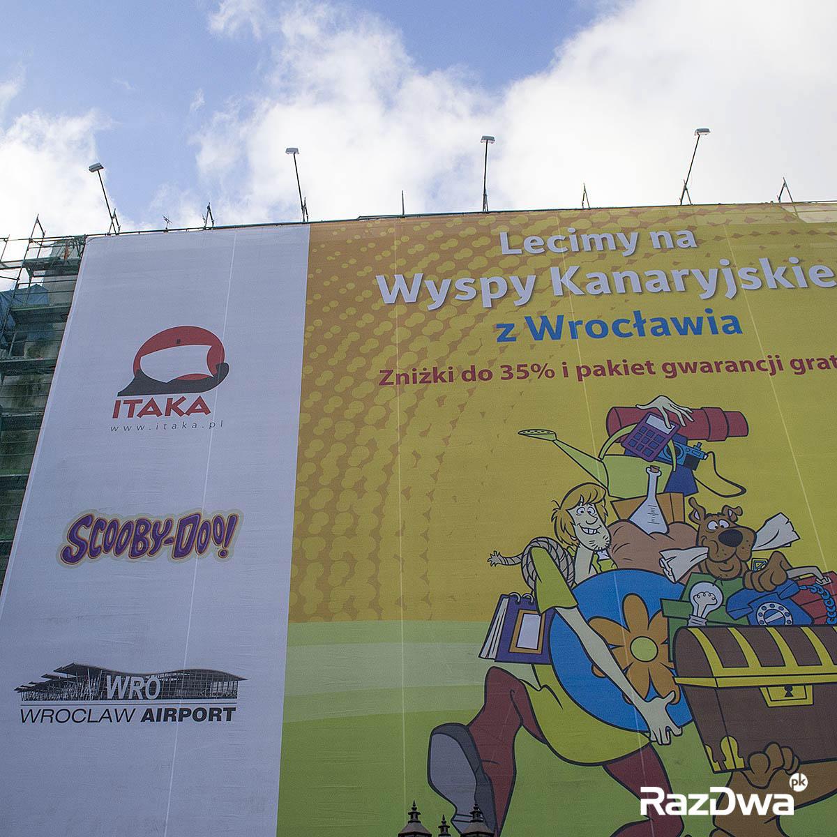 Kazimierza Wielkiego Ruska Wrocław Reklama Wielkoformatowa